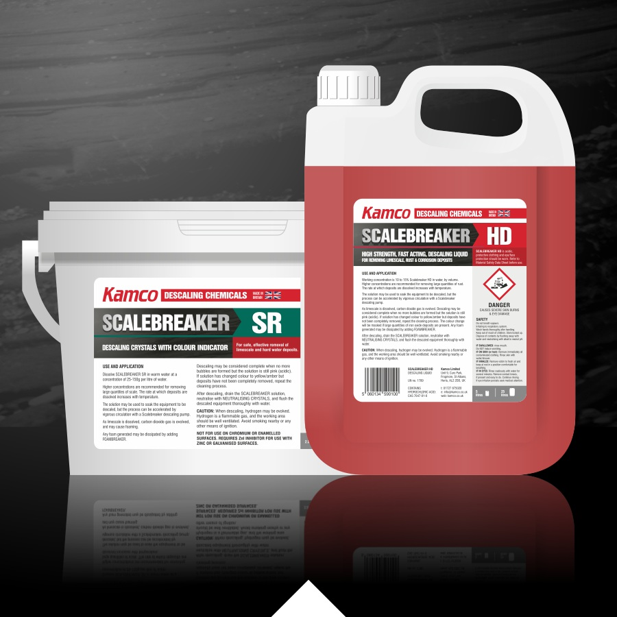 Kamco descaling chemicals