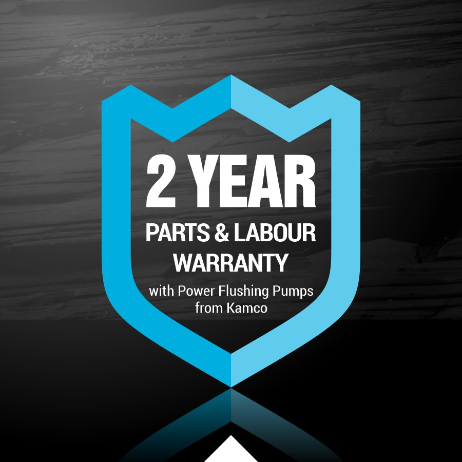 Kamco 2 year parts and labour warranty