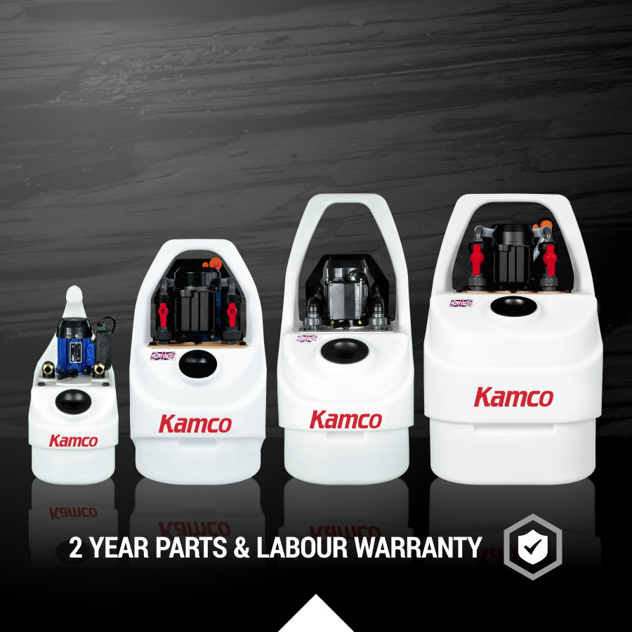 Kamco descaling pumps